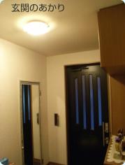 玄関の明かり